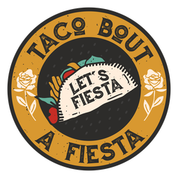 Taco fiesta badge