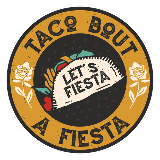Taco fiesta badge