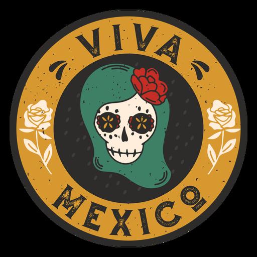 Badge viva mexico