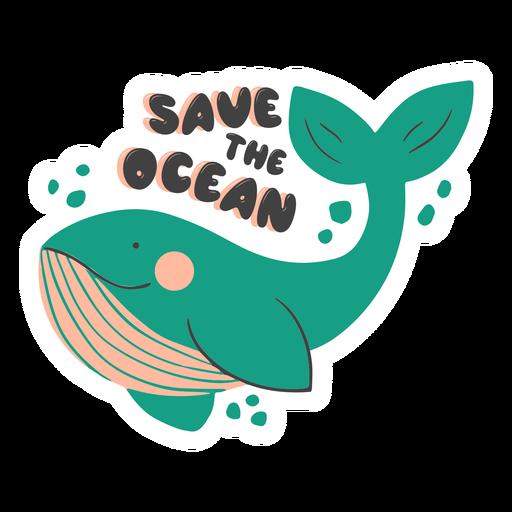 Salva la insignia del océano