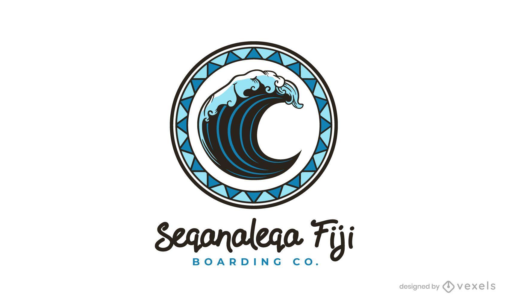 SOLICITAR plantilla de logotipo de Seqanaleqa fiji