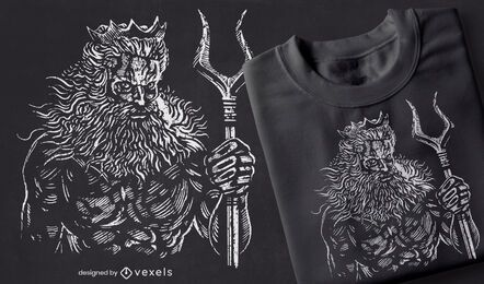 Hades hand-drawn t-shirt design