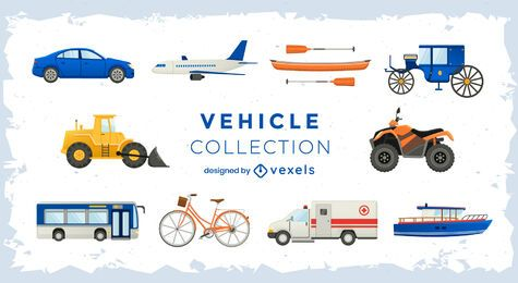 Conjunto de transporte de veículos