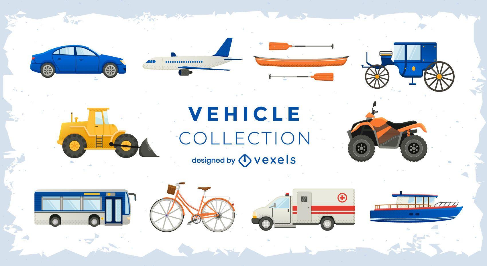 Set de transporte de vehículos