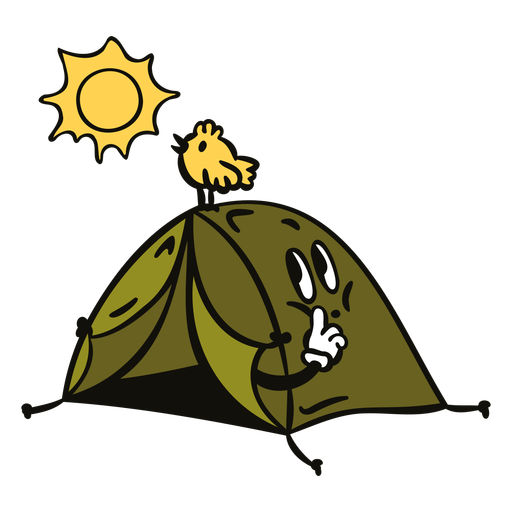 Color de dibujos animados retro de aventura - 2