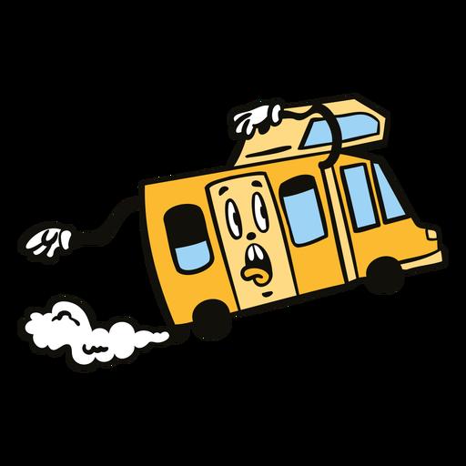 Color de dibujos animados retro de aventura - 3