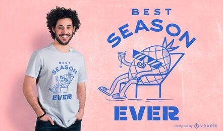 O melhor design de camisetas da temporada