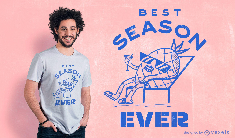 Best season ever t-shirt design