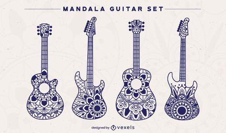 Set de guitarra Mandala