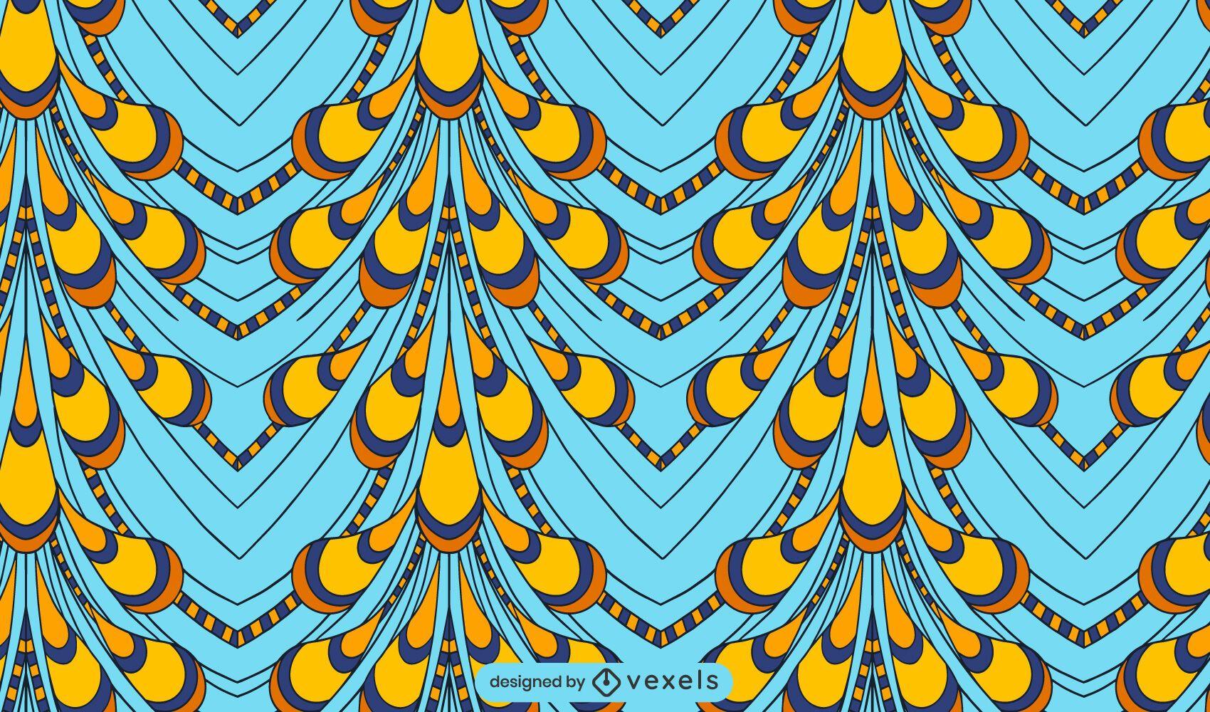 Ankara fabric pattern