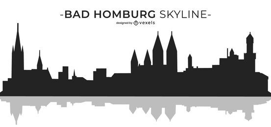 Bad Homburg skyline design