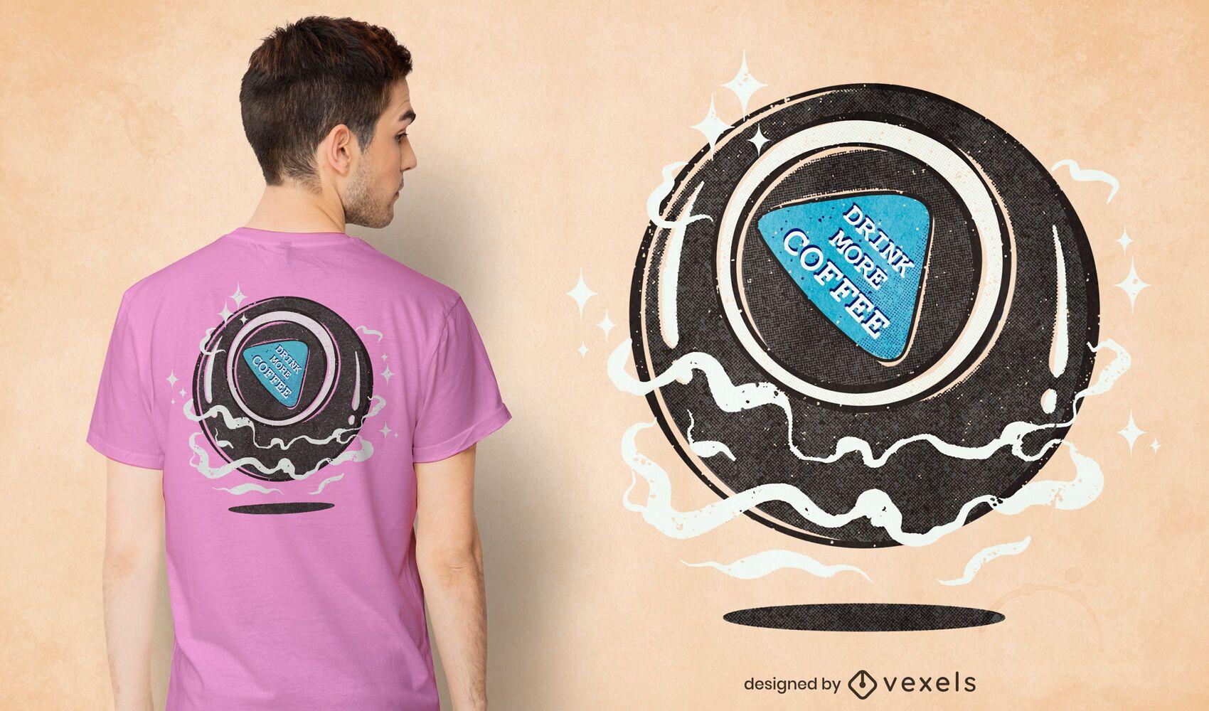 Magic ball t-shirt design