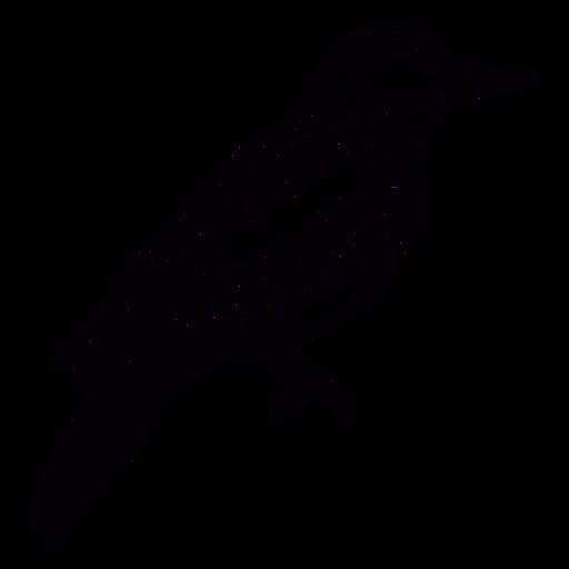 Hand-drawn sparrow bird