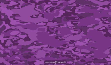 Purple camouflage pattern design