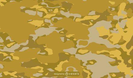 Gold camouflage pattern design