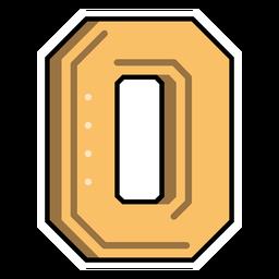 Number zero semi-flat