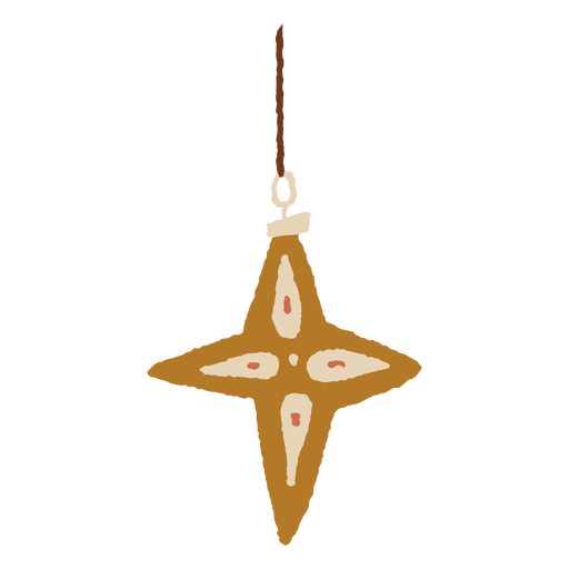 Star-shaped christmas light