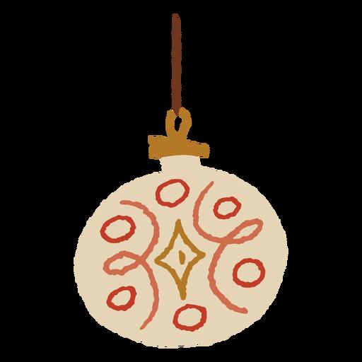 Christmas round light flat