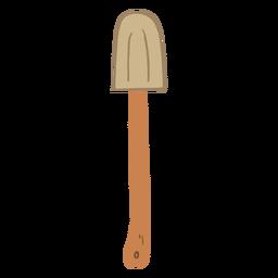 Mixing spatula flat