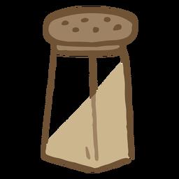 Salt jar flat
