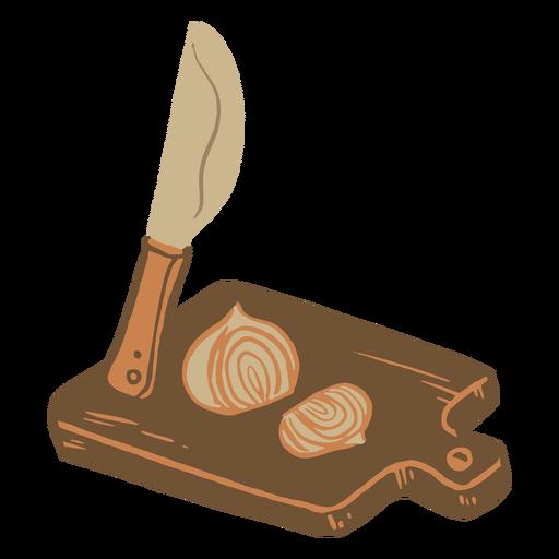 Kitchen cutting supplies illustration