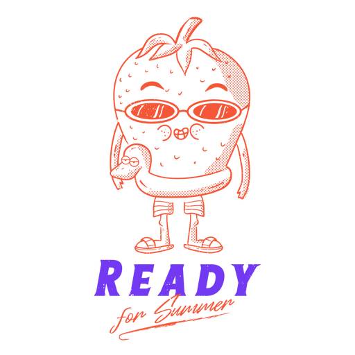 Summer ready badge Transparent PNG