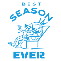 Summer season badge