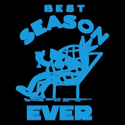 Summer season badge