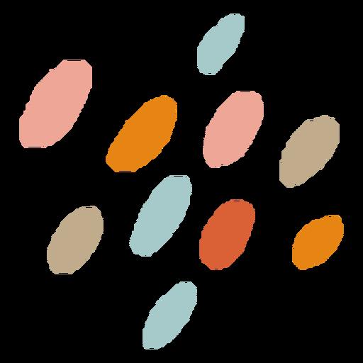 Trazos de pincel abstracto orgánico