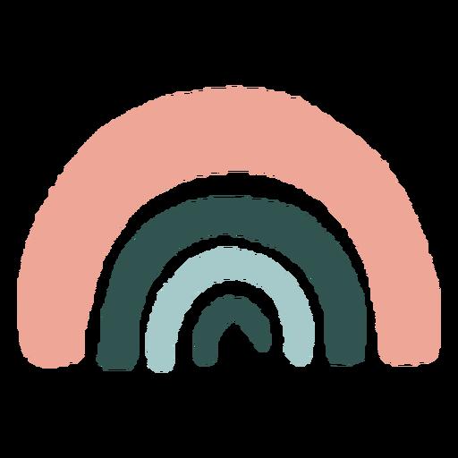 Resumen orgánico arco iris