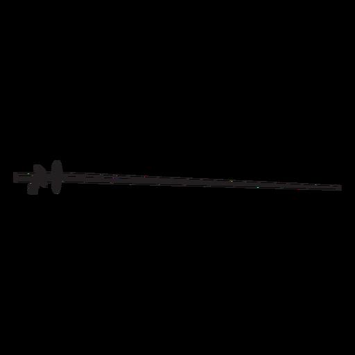 Fencing sword sport