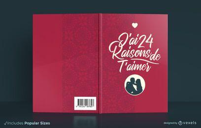 Razones para amarte diseño de portada de libro