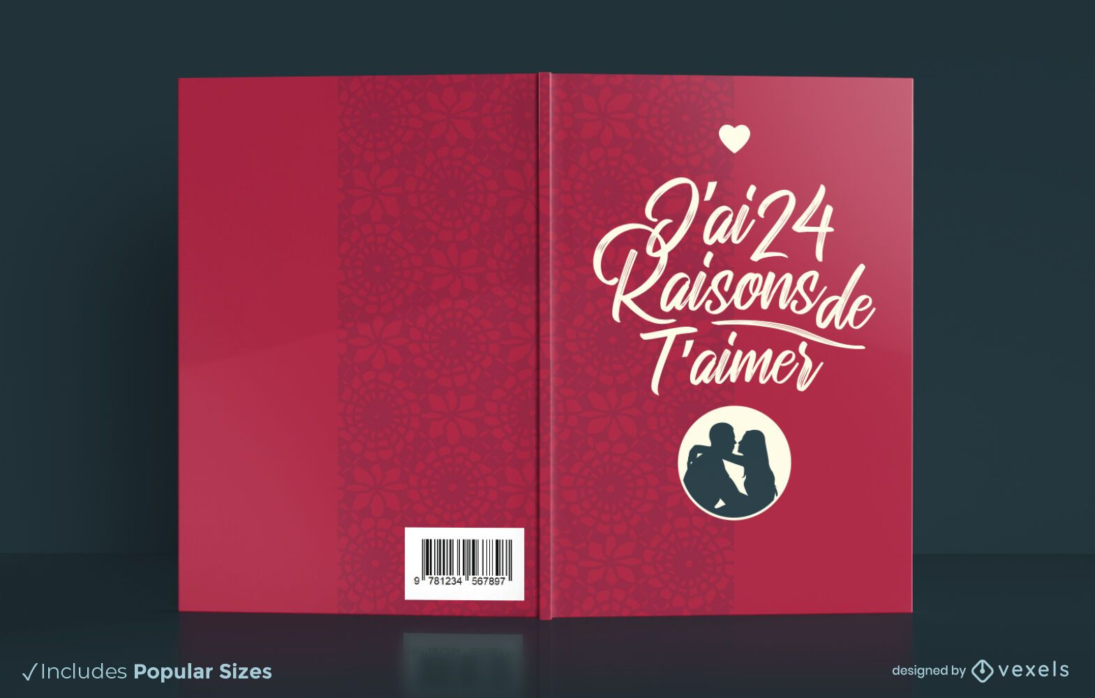 Reasons to love you book cover design