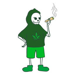Grim reaper joint character