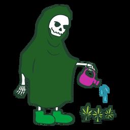 Grim reaper cannabis personagem