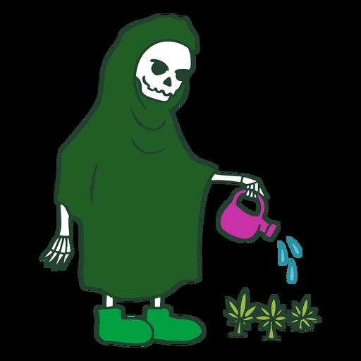 Car?cter de cannabis grim reaper