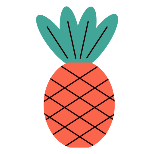 Pineapple summer flat