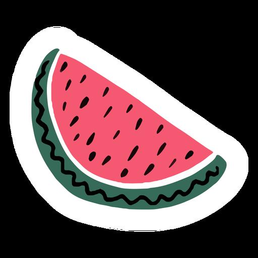 Watermelon summer flat