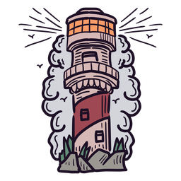Lighthouse tall tower