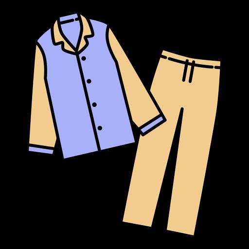 Winter pajamas outfit