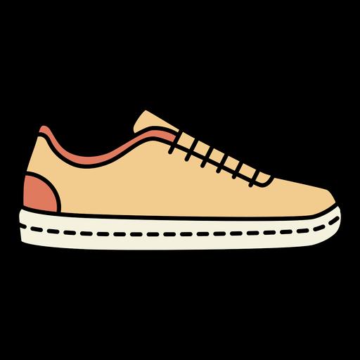 Low-top sneaker side view