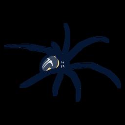 Spider walking flat