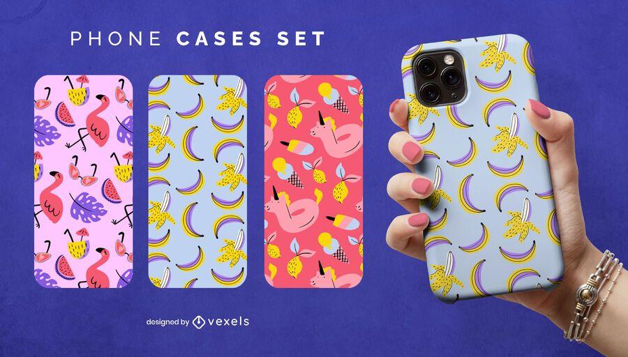 Summer phone case set
