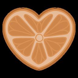 Fruta en forma de corazón - 1