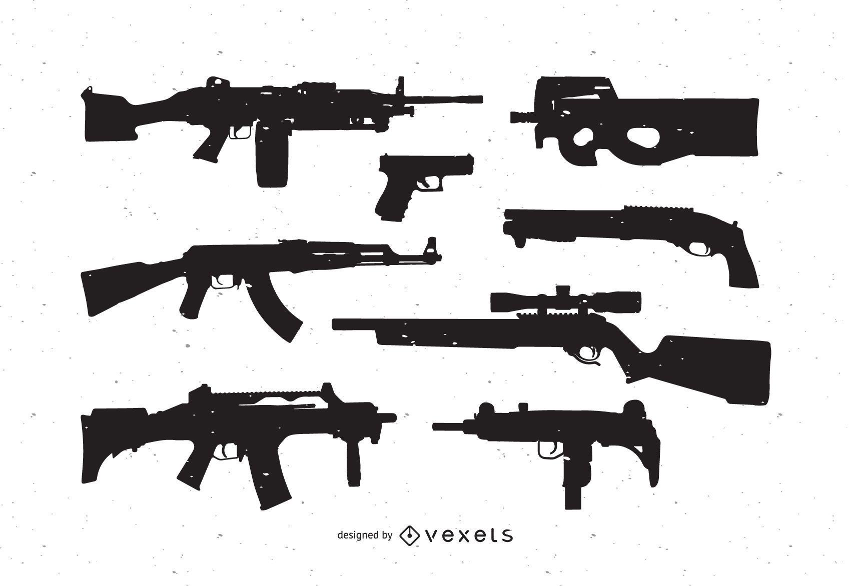 Pacote de vetores gr?tis de armas