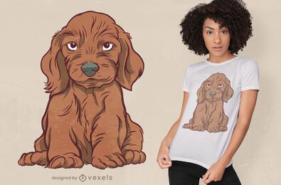Dog dachshund t-shirt design