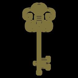 Antique elegant key