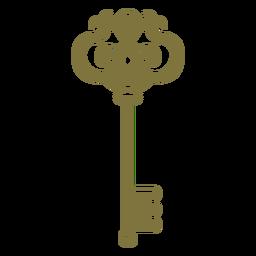 Antique intricate key