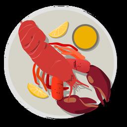 Lobster food meal