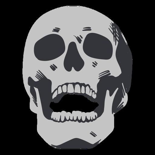 Laughing skull flat